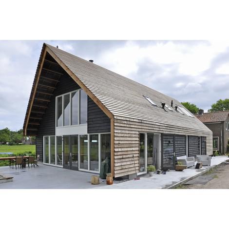 Houten woonhuis de houtprijs - Interieur modern houten huis ...